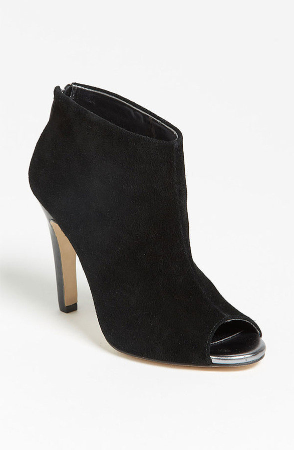 If you're just looking to test the waters, this Julianne Hough For Sole Society style ($70) is a more classic take on the ankle boot silhouette with just a slightly more modern update — the under $100 price tag doesn't hurt, either.