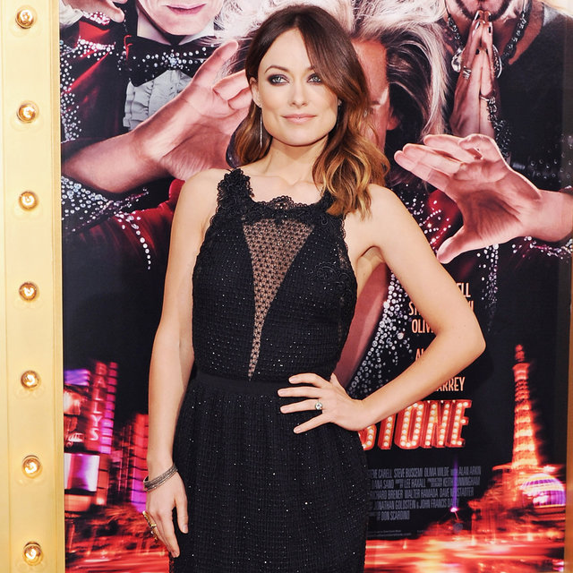 Olivia Wilde in Gucci at The Incredible Burt Wonderstone