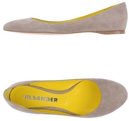 JIL SANDER Ballet flats
