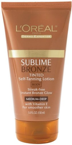 L'Oreal-Dermo Expertise Sublime Bronze Tinted Self Tanning Lotion