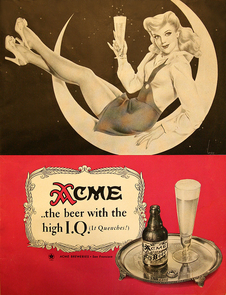 Hey ladies, choose your beer like you choose your men — the higher the IQ the better.
