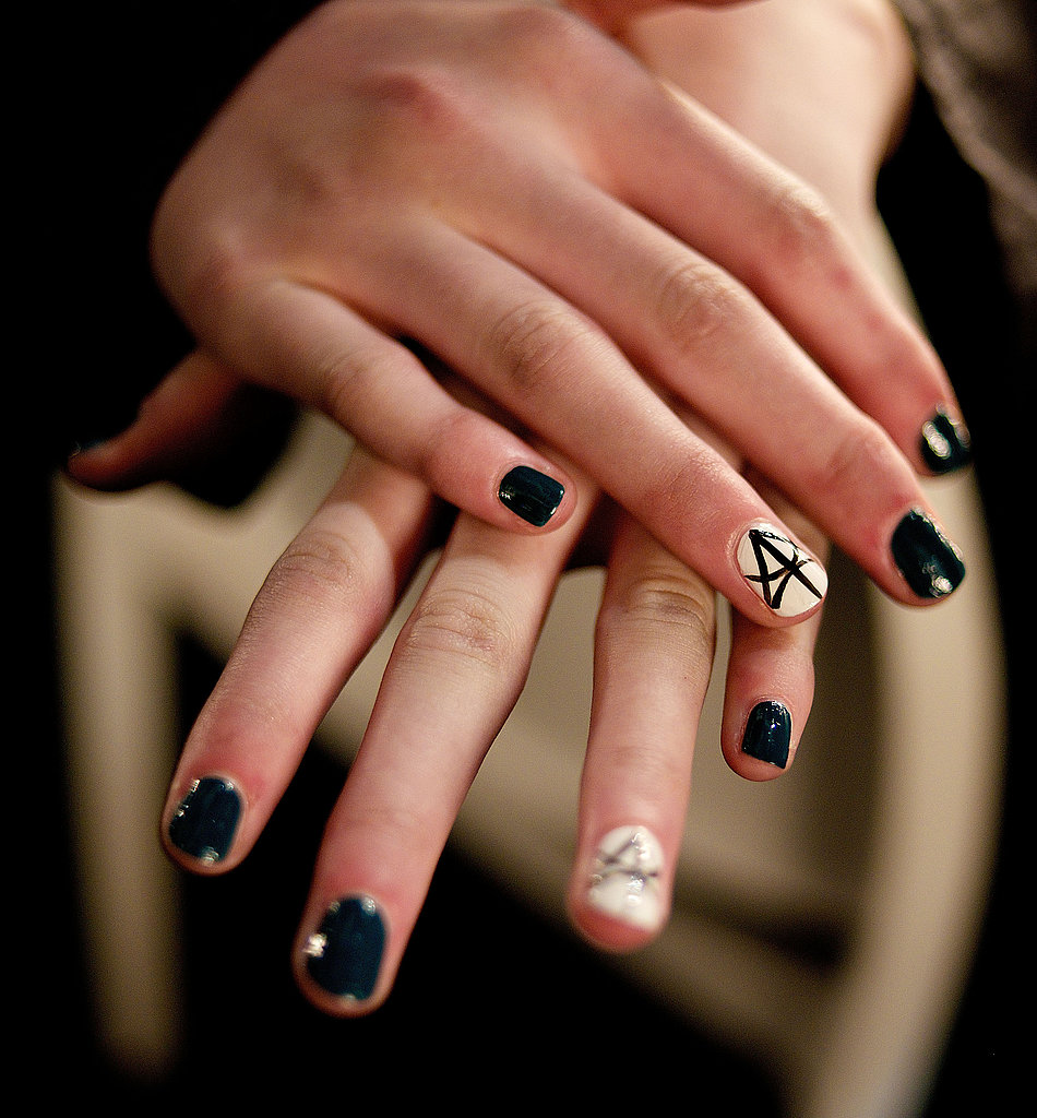 Don't expect a caviar manicure done with regular polish to last more than one night.