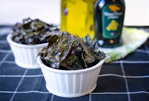 Salt &amp; Vinegar Kale Chips