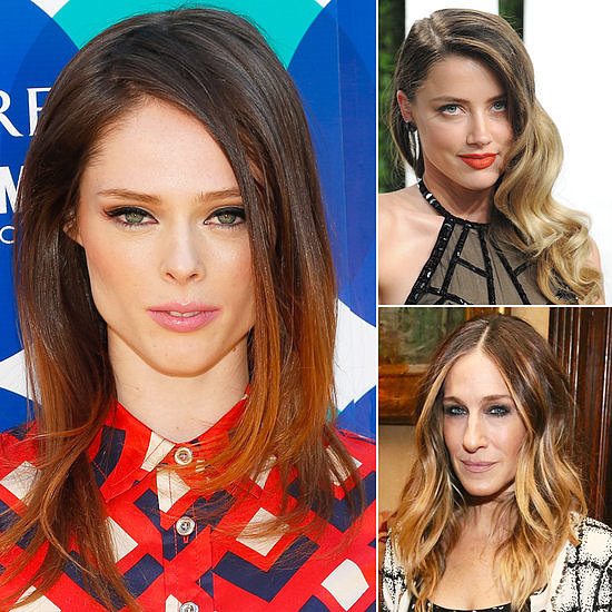 Don't want to say goodbye to your ombré? This dip-dyed hair trend is red hot for Spring.