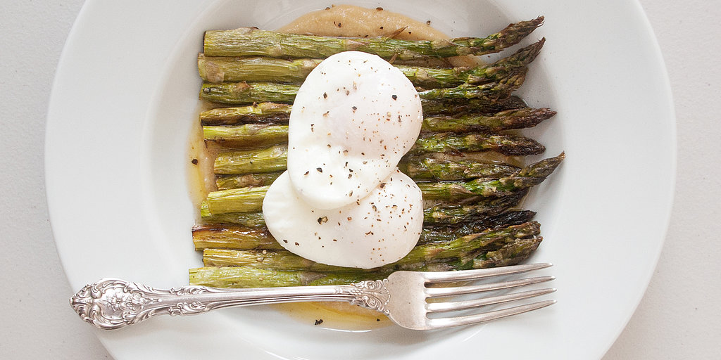 Fast and Easy Dinner: Asparagus With Miso Butter and Poached Eggs