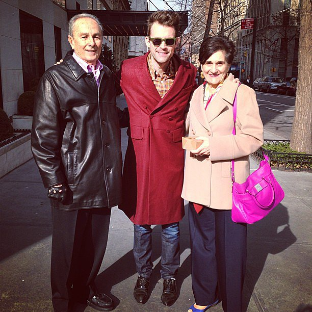 Brad Goreski had lunch with his boyfriend's parents. Source: Instagram user mrbradgoreski