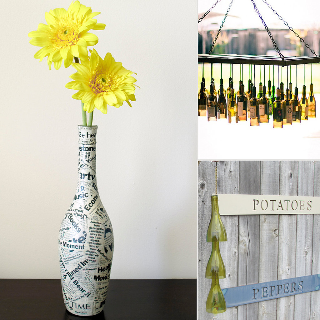 Reduce, Rebooze, Recycle: 10 Creative Uses For Wine Bottles
