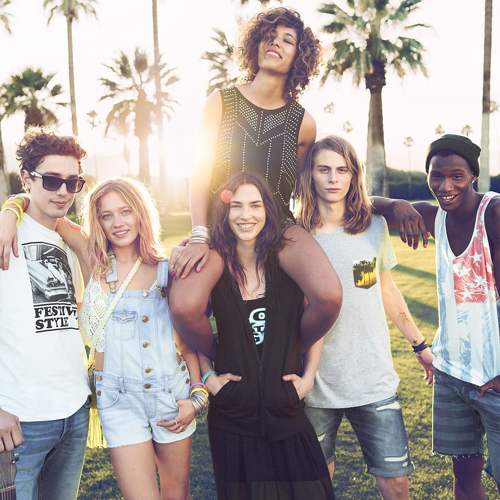 H&M's Latest Collection Has Music-Festival Style Written All Over It
