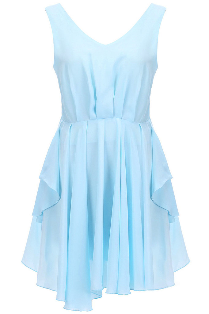 We adore the ethereal draping detail on this Romwe cutout pleated dress ($32).