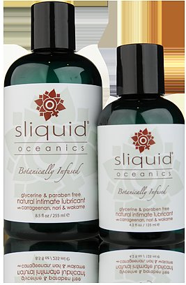 Sliquid Oceanics natural lubricants ($13-$25)