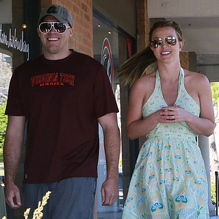 Britney Spears Takes Her Boys to Gymnastics in LA