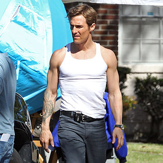 Matthew McConaughey on Set of True Detectives