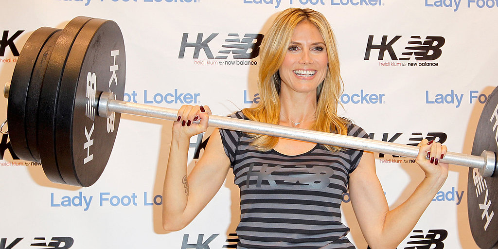 "Heidi Klum on Her ""Hard"" New Role on America's Got Talent and Looking Cute at the Gym"