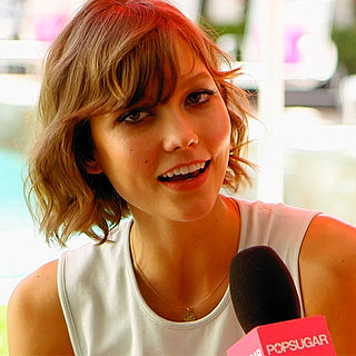 Karlie Kloss Victoria's Secret Swim Party Interview | Video