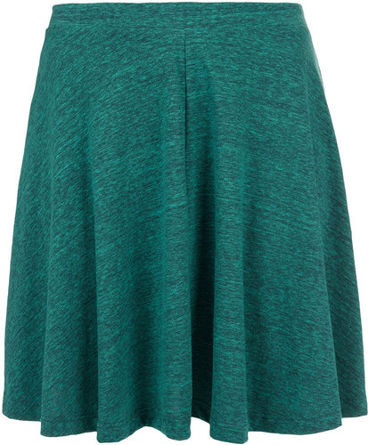 Green Speckle Skater Skirt