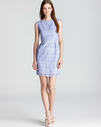 Shoshanna Sheath Dress - Nyla Lace