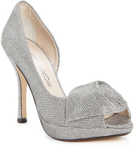 Caparros Shoes, Baldwin Evening Platform Pumps