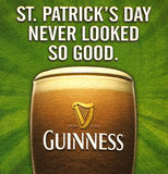 Of course, no Guinness ad roundup would be complete without a St. Patrick's Day reference.