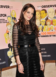 Katie Holmes posed at The New York Observer's 25th anniversary party in NYC.