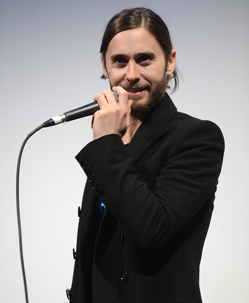 Jared Leto took the microphone during a  Q&A for Artifact.