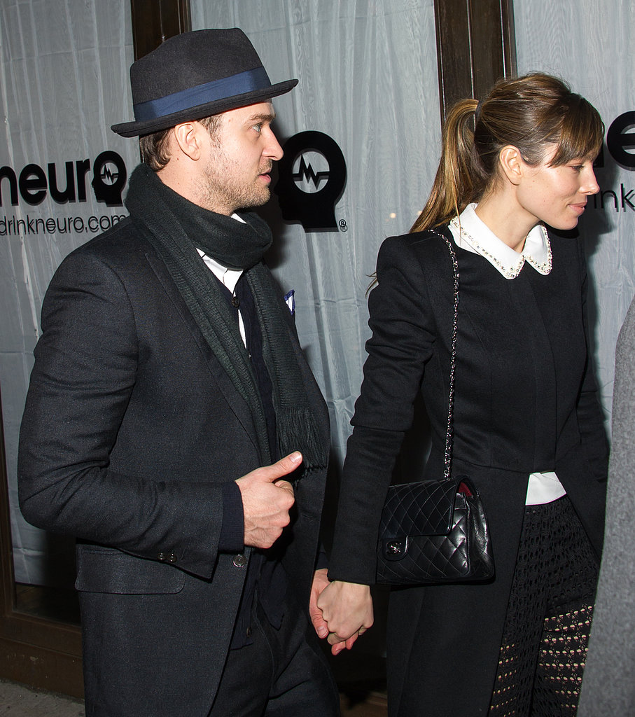 Justin Timberlake and Jessica Biel stepped out in NYC.