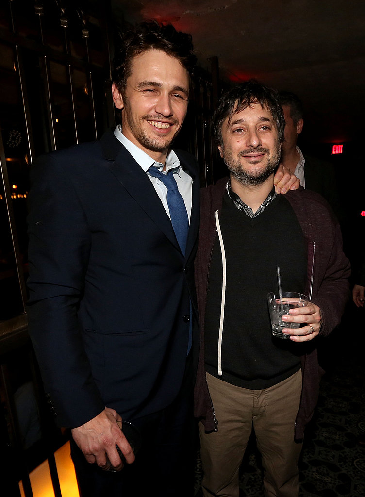 James Franco chatted with director Harmony Korine.