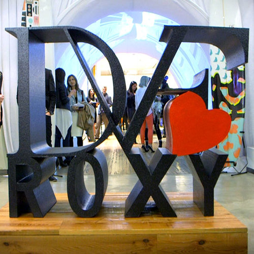 DVF Roxy Swim Collection (Video)