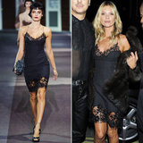 Leave it to Kate Moss to wear Louis Vuitton's Spring collection days after it was shown.