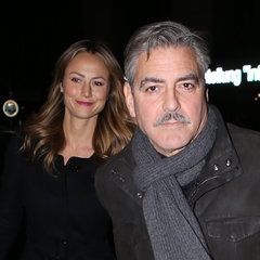 George Clooney & Stacy Keibler Date In Berlin; Matt Damon