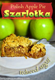Szarlotka or Polish Apple Pie