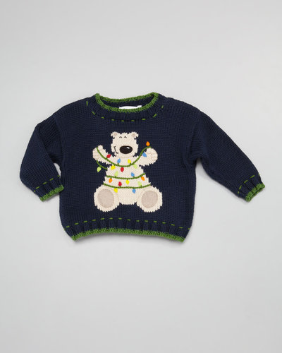 Art Walk Holiday Bear Sweater