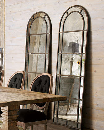 Distressed and Antiqued Mirrors