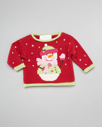 Art Walk Snowman Holiday Sweater, Sizes 2T-4T