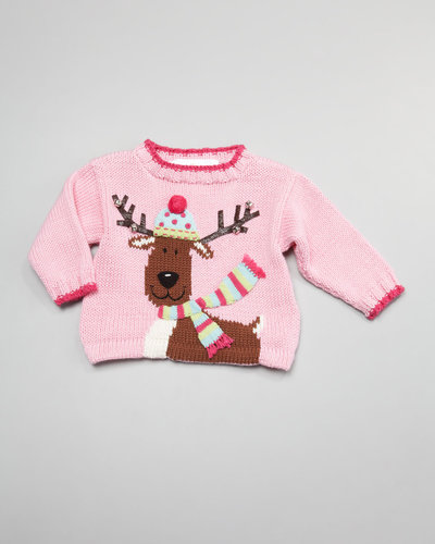 Art Walk Reindeer Holiday Sweater
