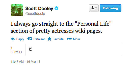 To see if you have a chance, Scott Dooley?