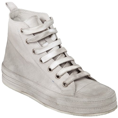 Ann Demeulemeester Blanche Distressed trainer
