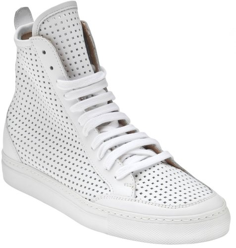 Mm6 By Maison Martin Margiela Perforated sneaker