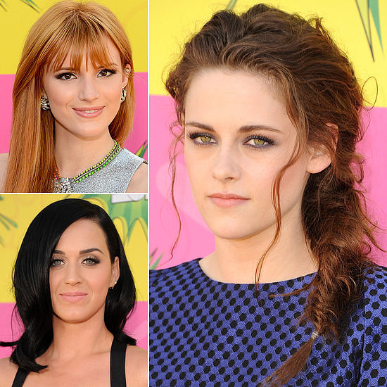 2013 Kids' Choice Awards: See the Stars' Hair and Makeup Up Close!