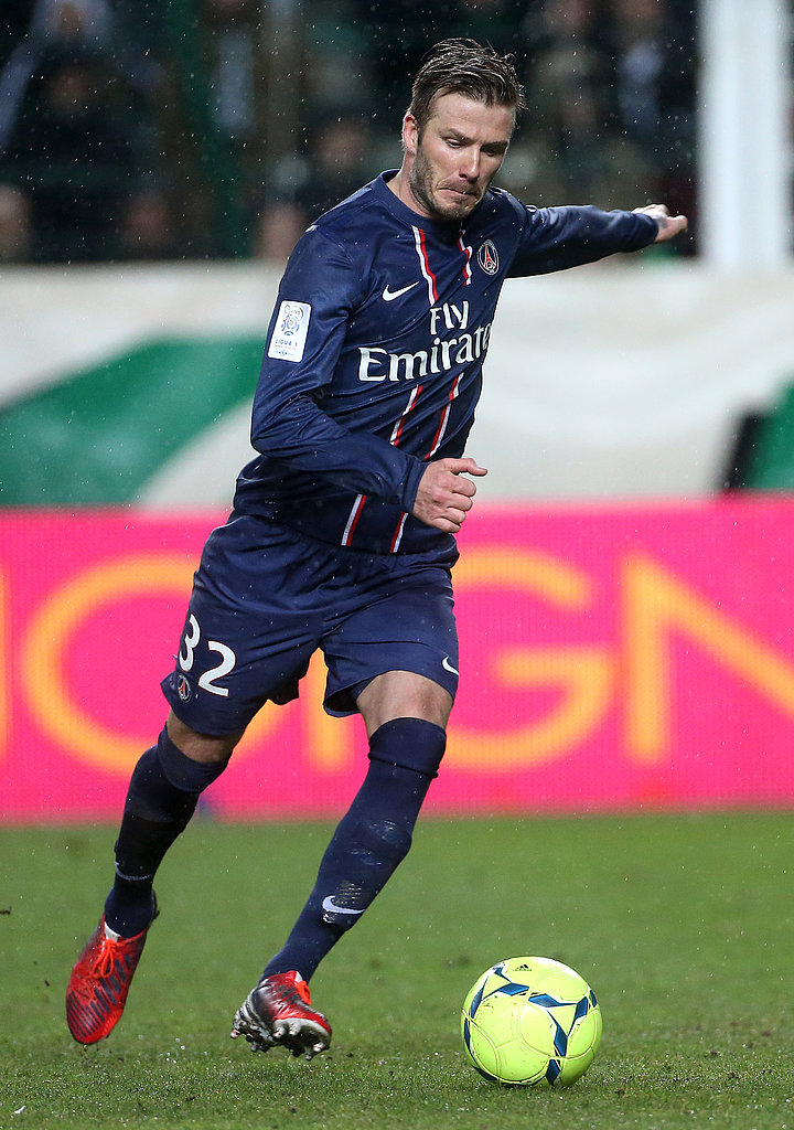 David Beckham played in France with Paris Saint-Germain.