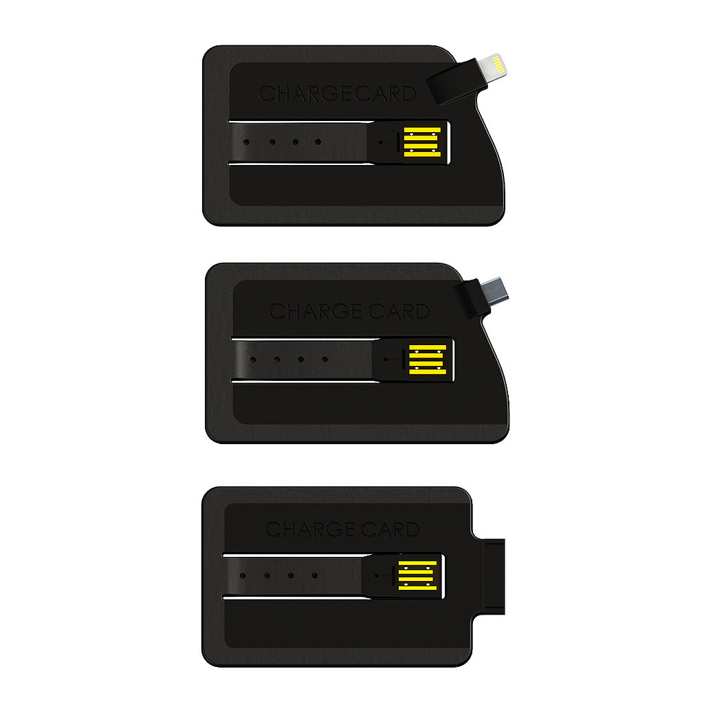 The ChargeCard is available for $25 in iPhone 4, iPhone 5 (pre-order, shipping mid-May), and micro USB (currently backordered) versions.