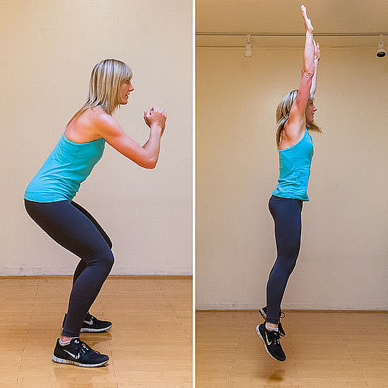 Circuit Two: Squat Jumps