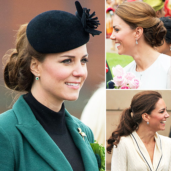 See 6 of Kate Middleton's Greatest Updos