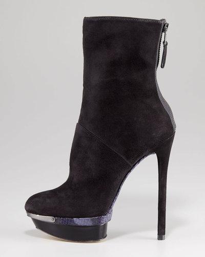 B Brian Atwood Platform Stiletto Boot