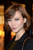 Keep your chin-length hair playful with a little bounce à la Karlie Kloss.