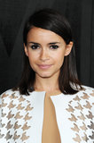For a quick way to pull together an eye look, simply smudge some black kohl liner and pile on the mascara like Miroslava Duma.