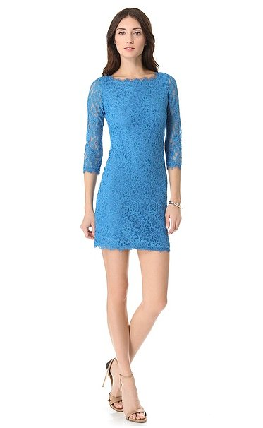Diane von Furstenberg's Zarita Lace Dress ($195, originally $325) will become your instant Spring party go-to.