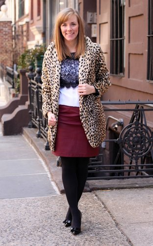 Leopard Leather and Lace