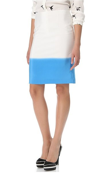 Depending on what you pair it with, Tibi's fade-out pencil skirt ($221, originally $315) can easily take you from work to drinks in the evening.
