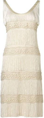 Phase Eight Fringe lace dress