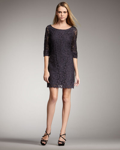 Shoshanna Lace Shift Dress